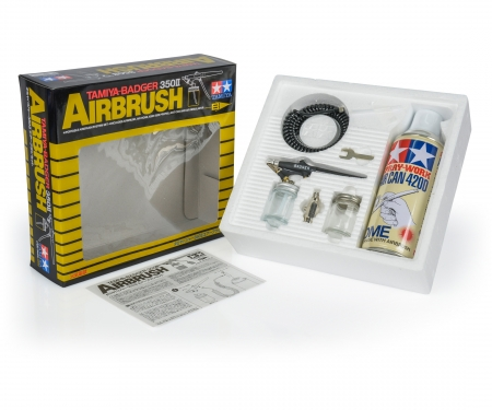 Tamiya-Badger 350 II Airbrush Set