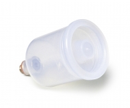 T-AB Spray-Work Paint Cup 17 cc Plastic