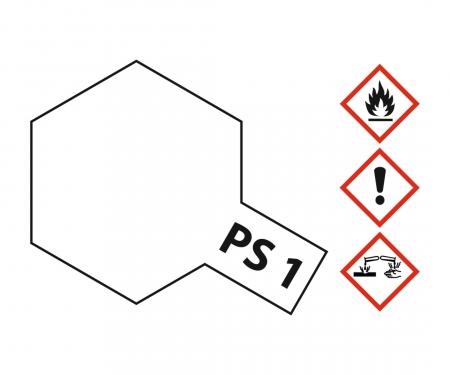 PS-1 White Polycarbonate 100ml