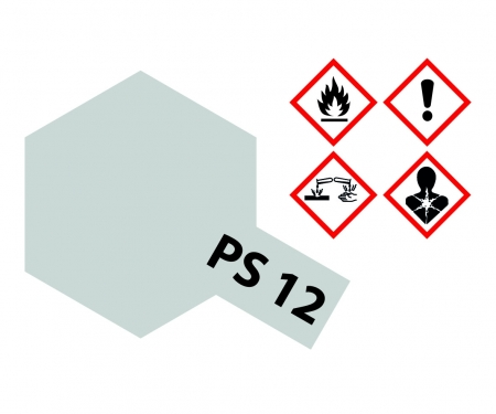 PS-12 Silver Polycarbonate 100ml