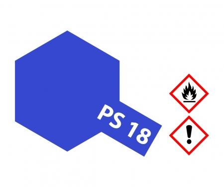PS-18 Metallic Purple Polycarb. 100ml