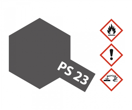 PS-23 Gun Metall Grau Polycarbonat 100ml