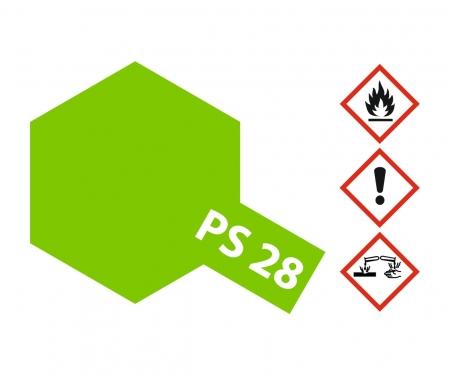 PS-28 Flourescent Green Polycarb. 100ml