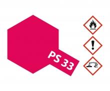 PS-33 Kirschrot Polycarbonat 100ml