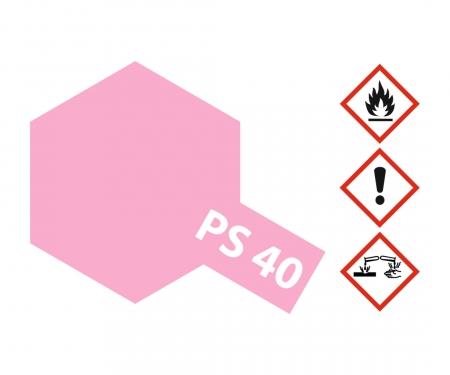 PS-40 Translucent Pink Polyc. 100ml