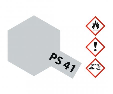 PS-41 Bright Silver Polycarb. 100ml