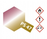 PS-47 Iridescent Pink-Gold Polyc. 100ml