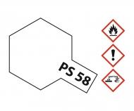PS-58 Perleffekt Klar Polycarbonat 100ml