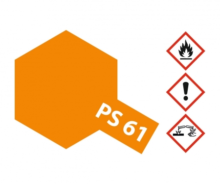 PS-61 Metallic Orange 100ml
