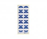 Label LP-Mischglas 10ml rund