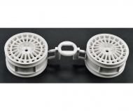 1:10 Spoke Wheel white 26mm (2)
