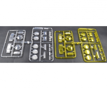P-Teile Gläser Klar/Gelb Scheinwerfer