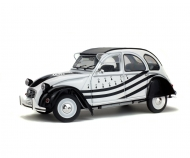 1:18 Citroen 2 CV 6 white/black