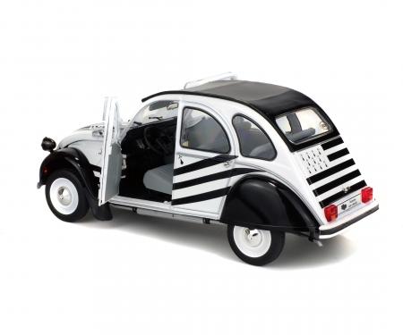 1:18 Citroën 2CV6 BZH (1978), weiß/schwarz