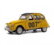 """1:18 Citroën 2CV6 """"007"""", gelb, 1981"""