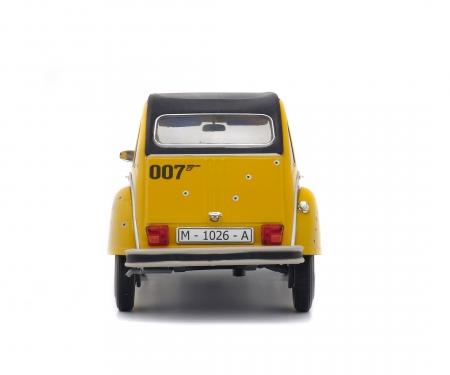 """1:18 Citroën 2CV6 """"007"""", yellow, 1981"""
