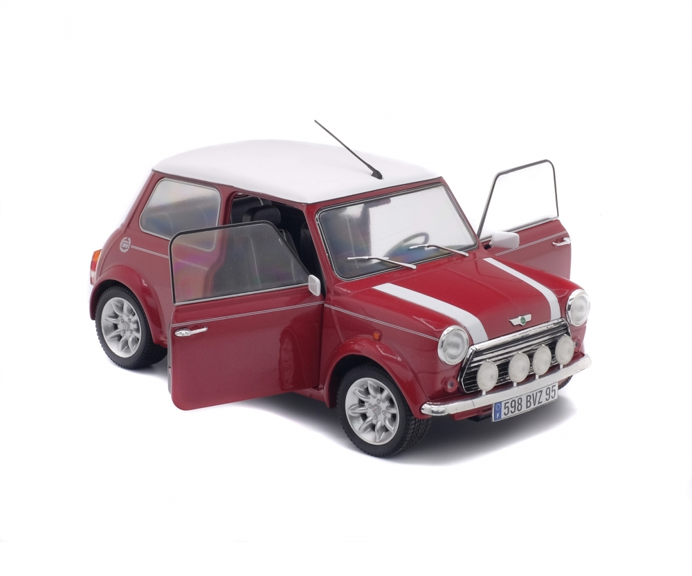 1 18 mini cooper sport rot 1997 1 18 die cast metal collection solido. Black Bedroom Furniture Sets. Home Design Ideas