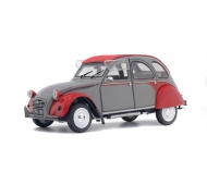 1:18 Citroën 2CV6 Dolly, grau-rot, 1985