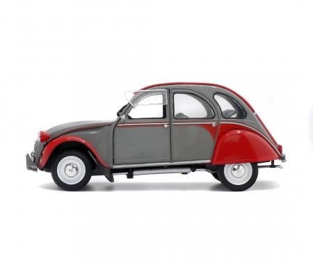 1:18 Citroën 2CV6 Dolly, grau-rot, 1985
