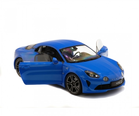 1:18 Alpine A110 Prime Edition, blue, 2017
