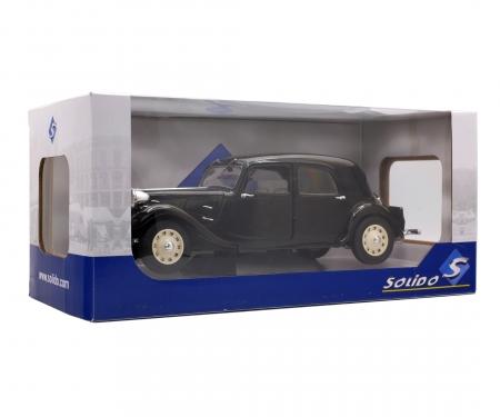 1:18 Citroën Traction IICV, schwarz, 1937