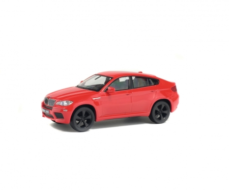 1:43 BMW X6 M, red, 2007