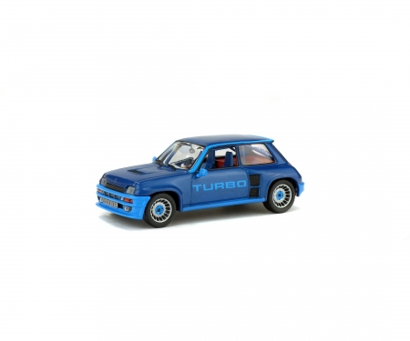 1:43 Renault 5 Turbo, blue, 1980