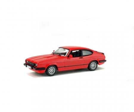 1:43 Ford Capri 2.8i, red, 1981