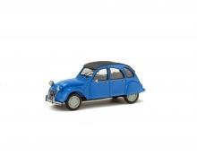 1:43 Citroën 2CV6, blue, 1978