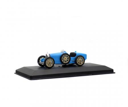 1:43 Bugatti T35B, blue, 1928