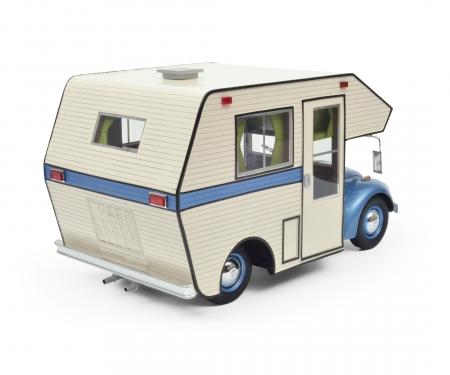 "VW Käfer ""Motorhome"", blau, 1:18"