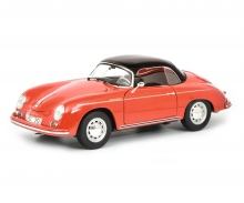 "Porsche 356 A Carrera Speedster ""Edition 70 Jahre Porsche"", red black, 1:18"