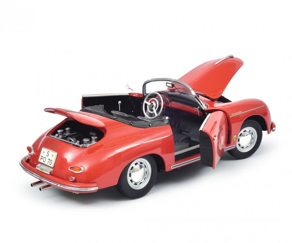 porsche 356 a carrera speedster edition 70 jahre porsche rot schwarz 1 18 edition 1 18. Black Bedroom Furniture Sets. Home Design Ideas