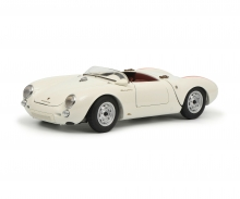 """Porsche 550 A Spyder """"Edition 70 Jahre Porsche"""", white 1:18"""