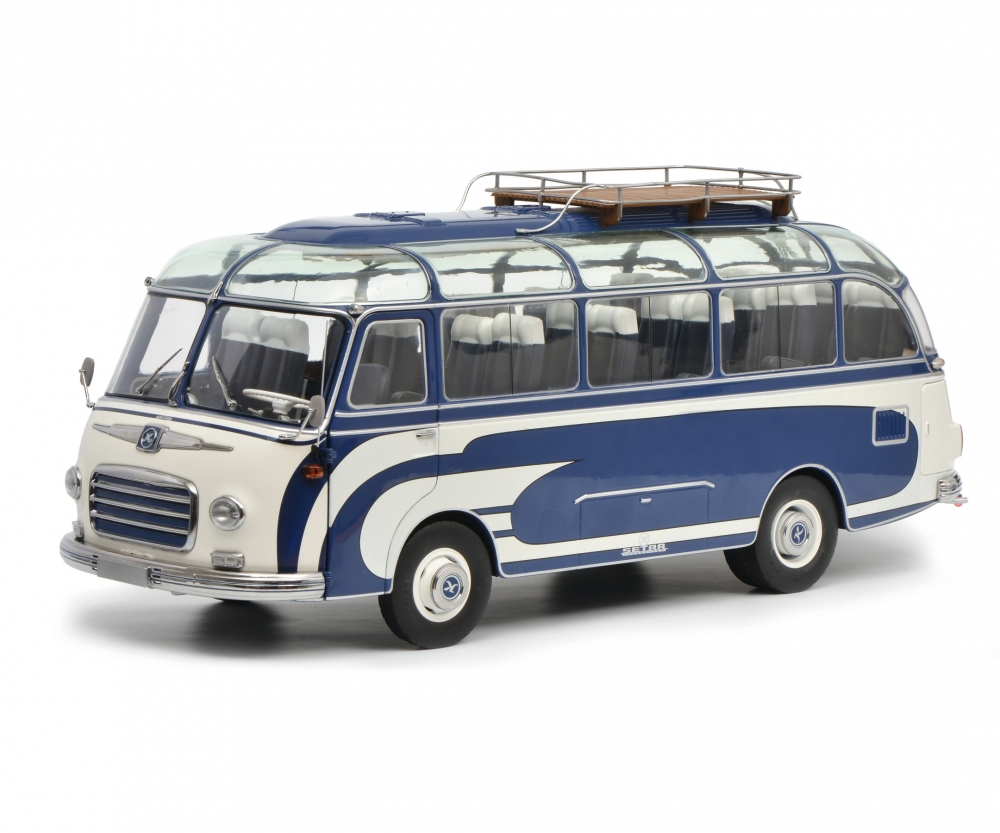 setra s6 blau wei 1 18 edition 1 18 omnibus modelle. Black Bedroom Furniture Sets. Home Design Ideas
