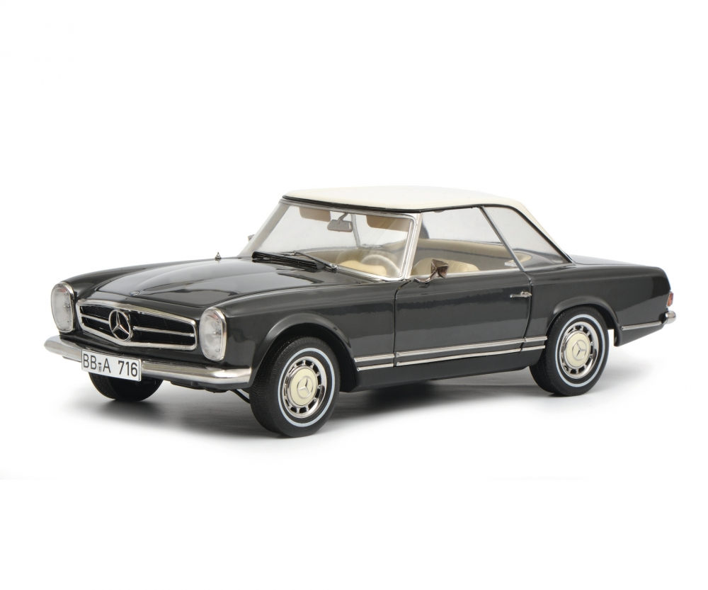Mercedes benz 280 sl dunkelgrau 1 18 edition 1 18 for Mercedes benz modelle