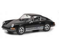 Porsche 911 S Coupé 1973, black, 1:18