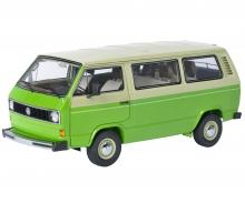VW T3 Bus, green-beige, 1:18