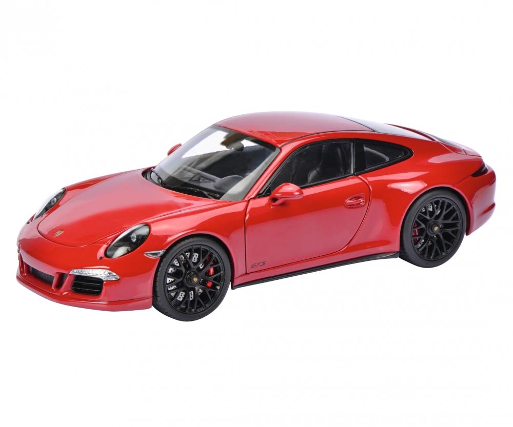 porsche 911 carrera gts coupé , red, 1:18 - edition 1:18 - car