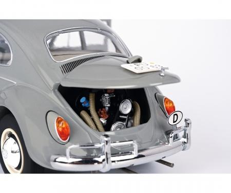 "VW Käfer Limousine ""1963"", grey, 1:18"
