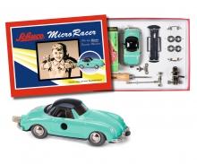 """Micro Racer """"Porsche 356"""" construction kit, green grey"""