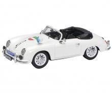 "Porsche 356 A Cabrio ""Polizei NRW"" 1:43"