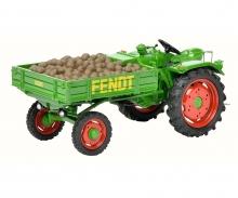Fendt equipment carrier GT with potatoes 1:43