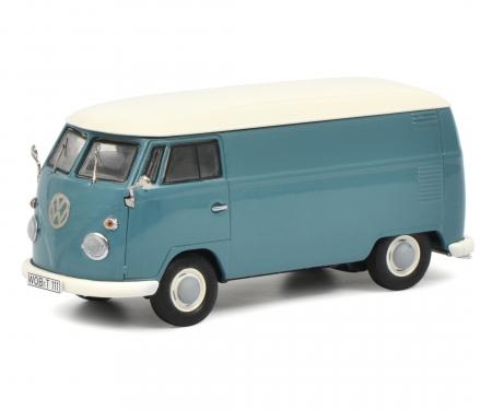"Set ""VW T1b"", VW T1b Samba, box van, twin cabin and pick-up, 1:43"