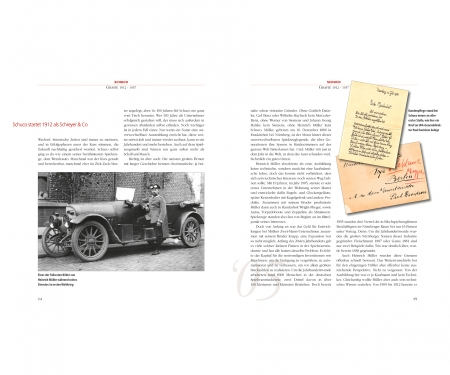 "Buch ""Die Schuco Saga - 100 Jahre voller Wunderwerke"" by Andreas A. Berse, german"