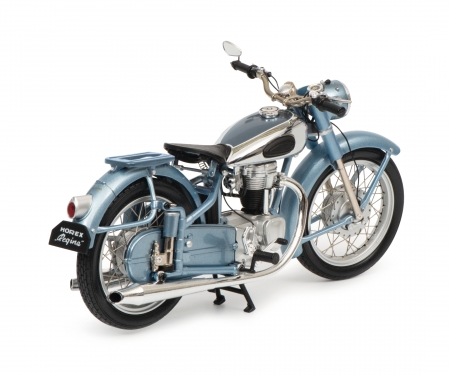 Horex Regina with single seat, blue metallic, 1:10