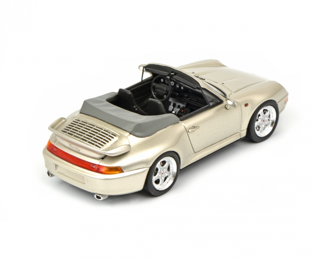porsche 911 993 cabrio grau 1 43 pro r 43 pkw. Black Bedroom Furniture Sets. Home Design Ideas