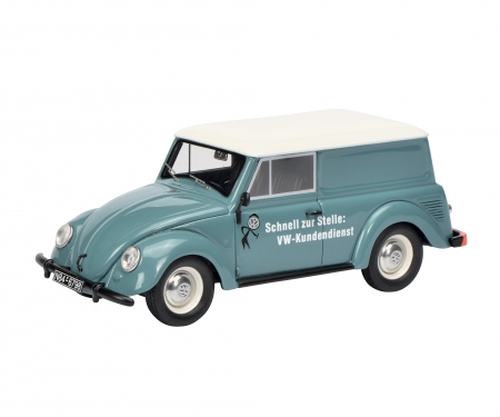 """VW small vehicle """"Volkswagen Service"""", blue 1:43"""