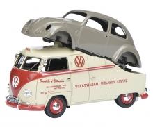 "VW T1a ""Midlands Centre"" with VW Brezelkäfer 1:43"