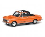BMW 2002 Cabrio (Baur), orange, 1:43